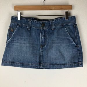 Abercrombie & Fitch Skirts - Abercrombie & Fitch Denim Mini Skirt Size 10